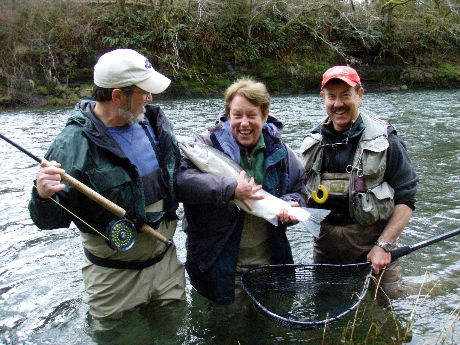 Siletz river winter steelhead steelhead fly fishing guide for Mckenzie river fishing
