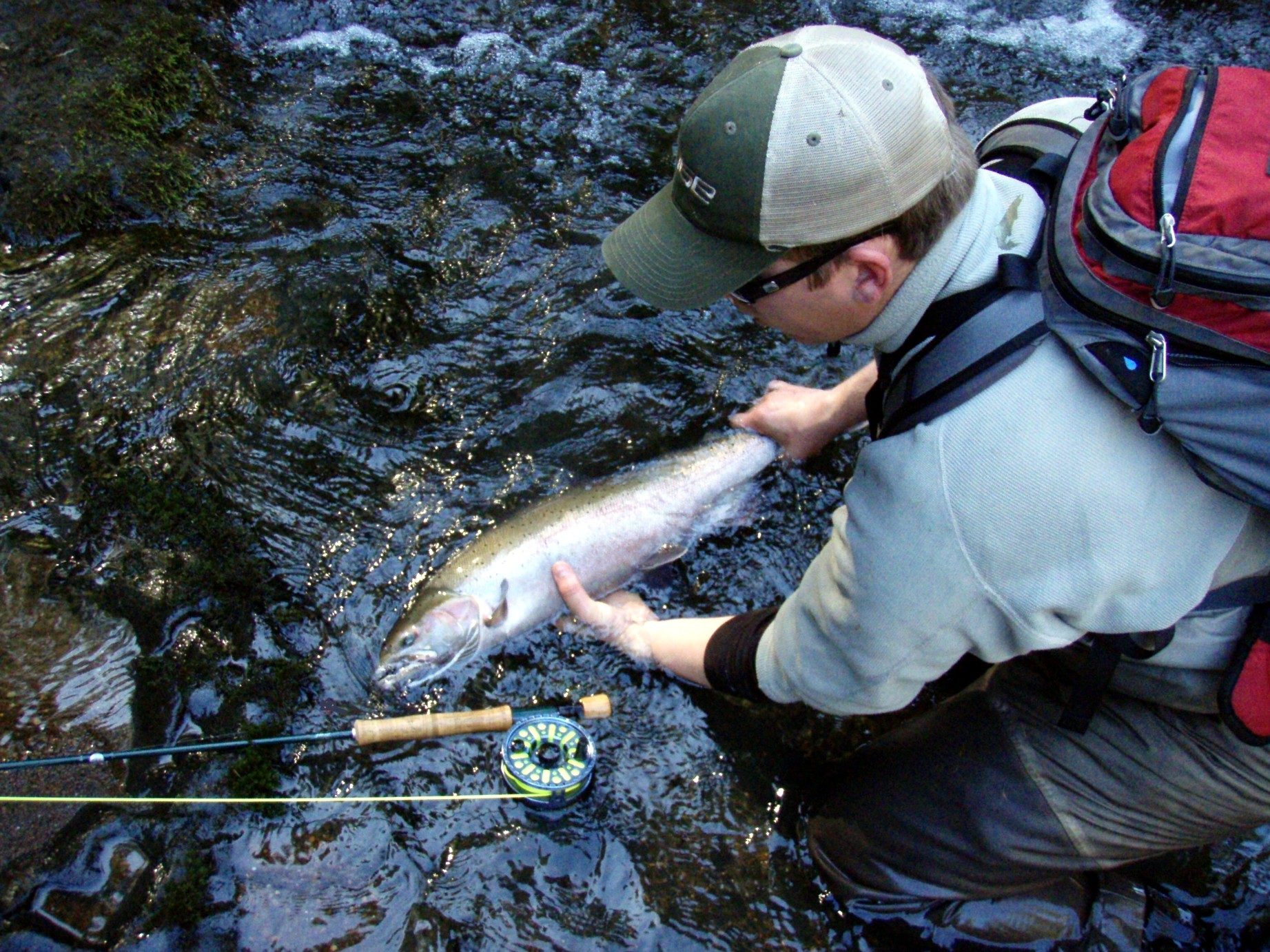Jason Mariner / Michael Gorman photo / McKenzie River Fishing Guide
