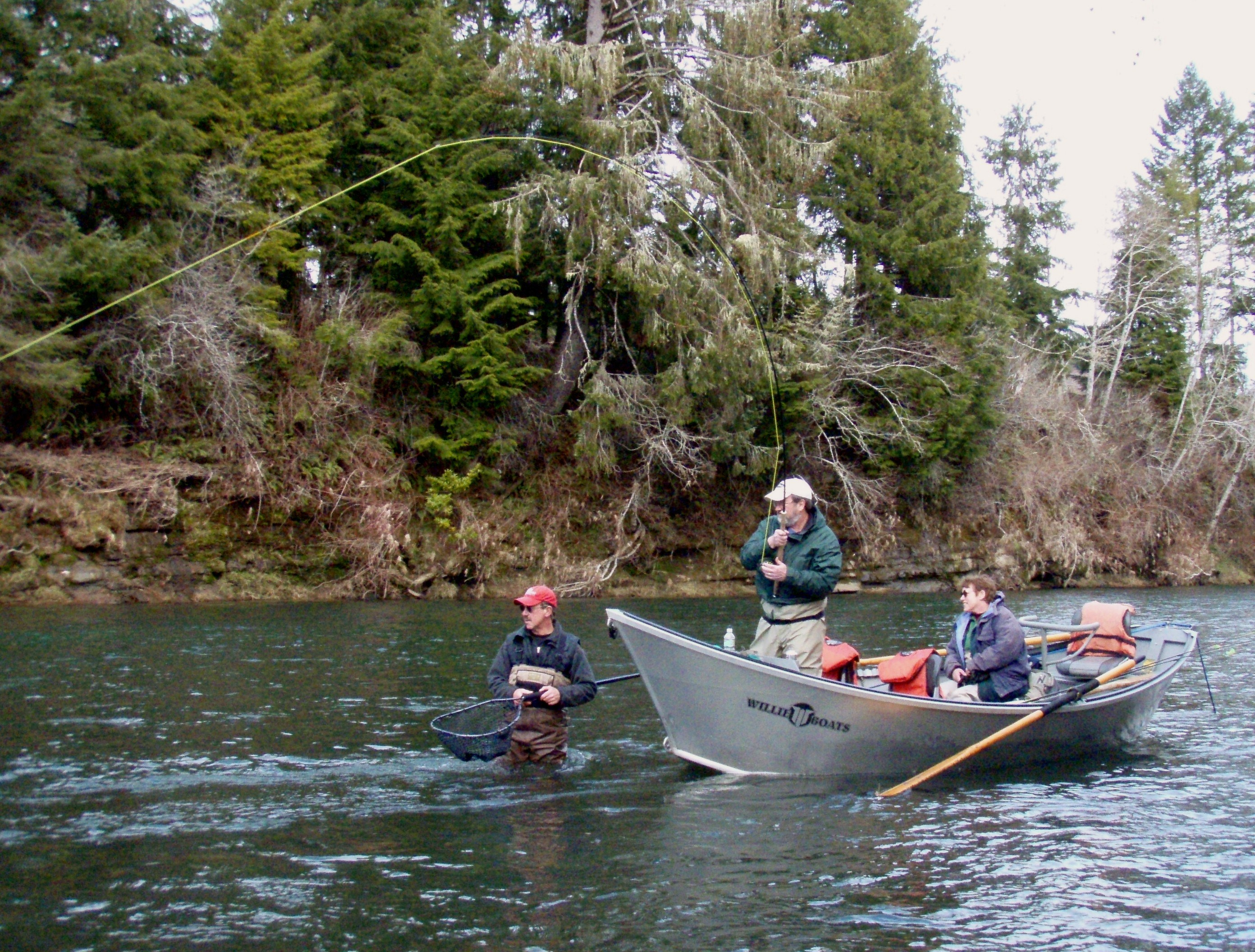 Michael gorman oregon fishing guide mckenzie river for Mckenzie river fishing