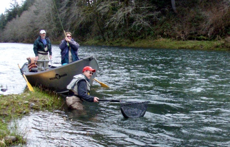 siletz river winter steelhead steelhead fly fishing guide