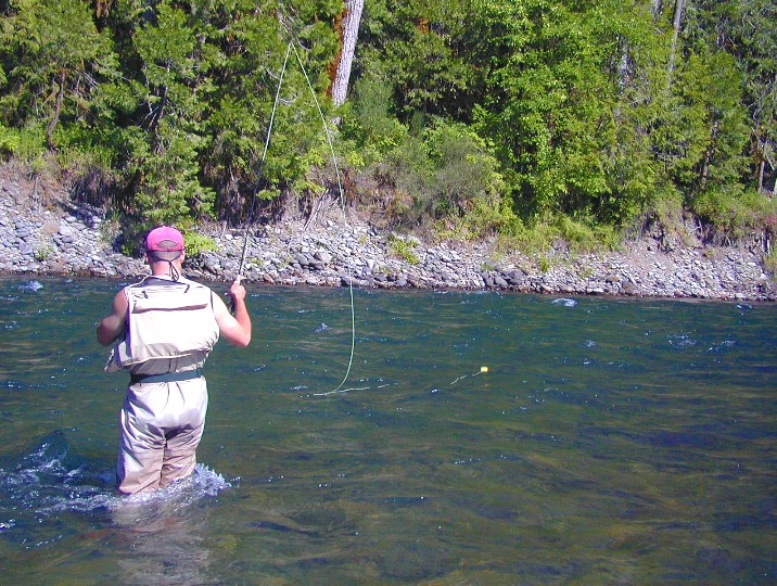 Nymph fishing for steelhead for Fly fishing strike indicator