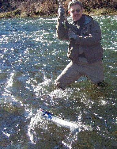 Siletz river winter steelhead steelhead fly fishing guide for Siletz river fishing report